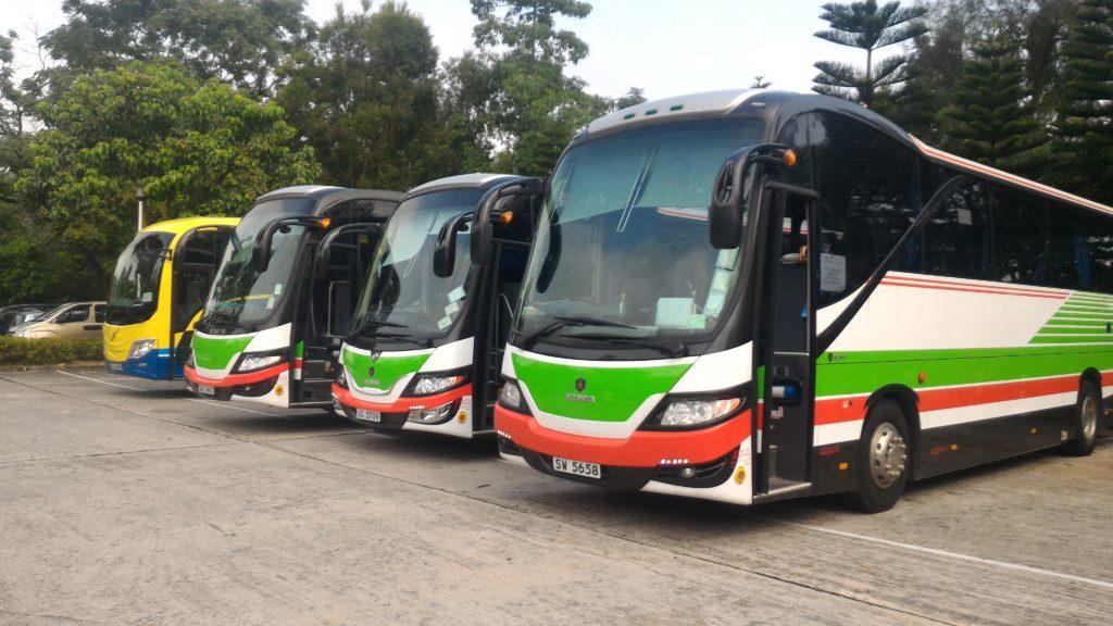 49-60座豪華大型旅遊巴士,歡迎預訂。 Whatsapp: 96295409 或打24764144