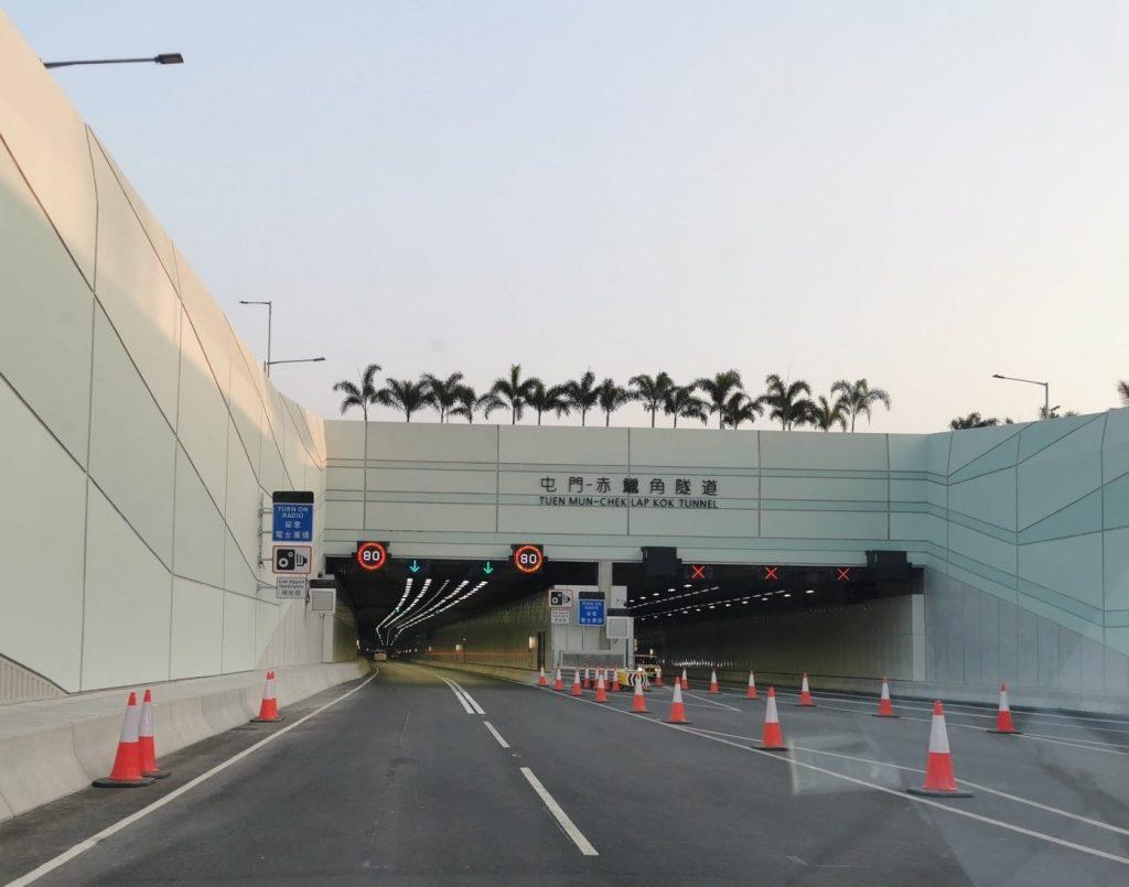 Tuen Mun Chek Lap Kok Tunnel Road