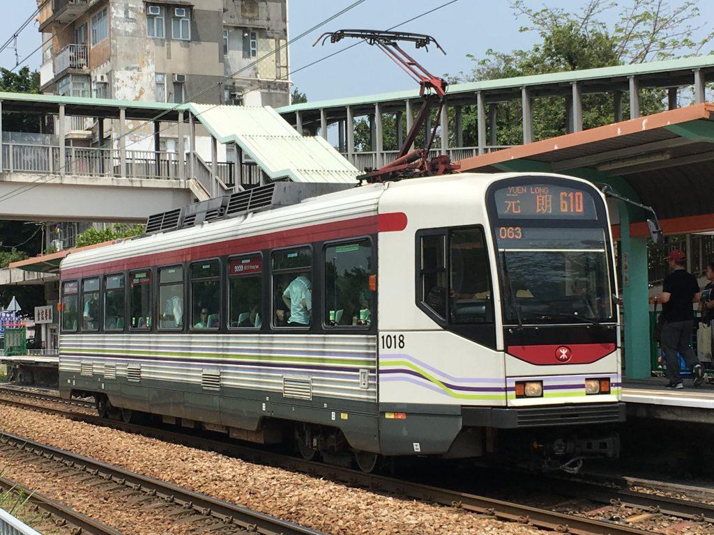Light Rail in Tin Sha Wai